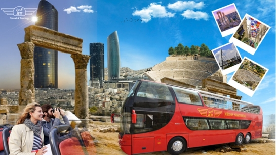 Sightseeing Amman...