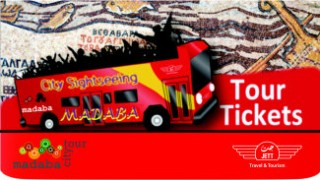 Madaba Red Bus Sightseeing Tour